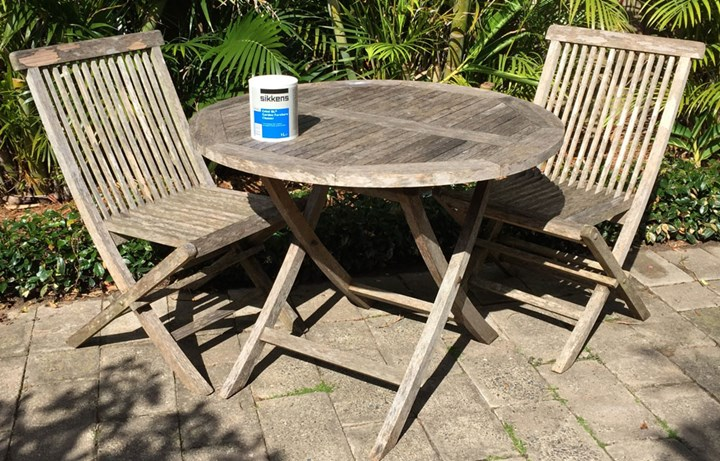 Stupendous How To Make Old Outdoor Timber Furniture Look New Again Gamerscity Chair Design For Home Gamerscityorg
