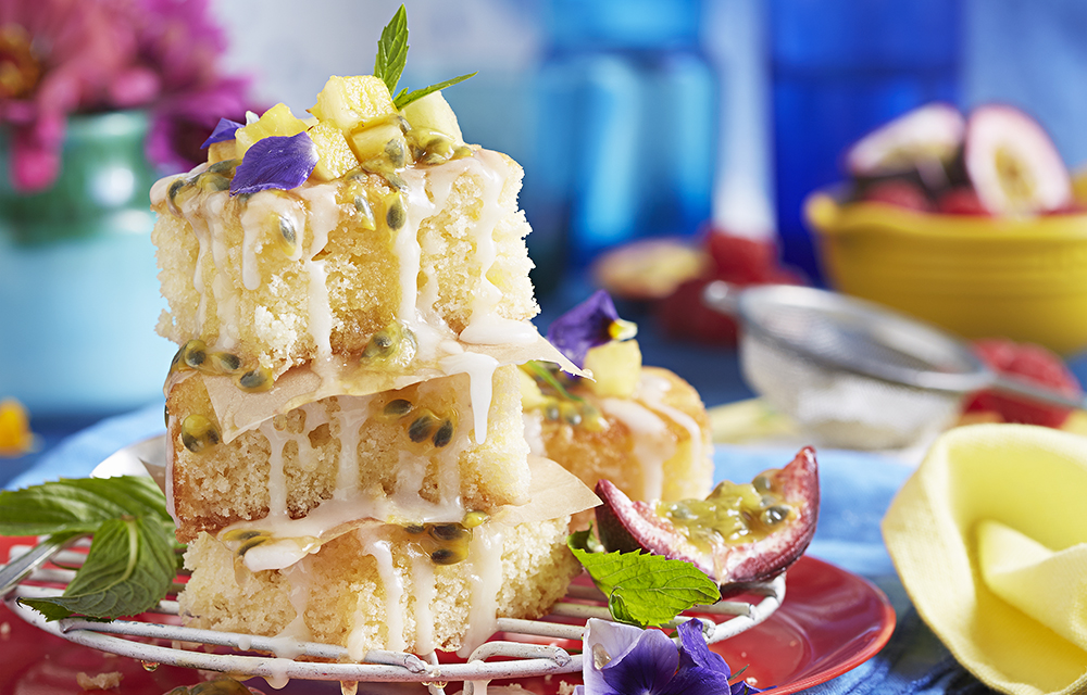Pineapple Coconut Cake Slice Diy Gardening Craft Recipes Renovating Better Homes And