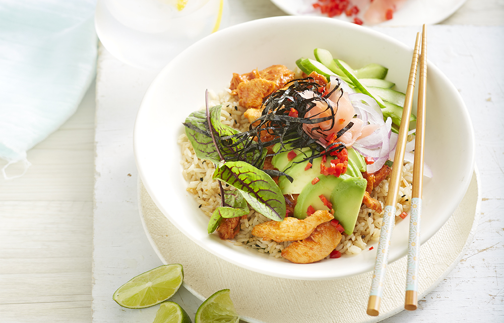 Chicken Sushi Bowl Better Homes And Gardens