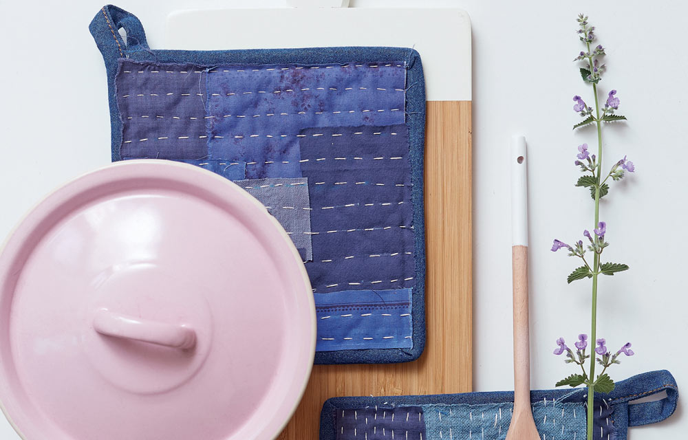 How To Make Recycled Denim Hot Pot Placemats Better
