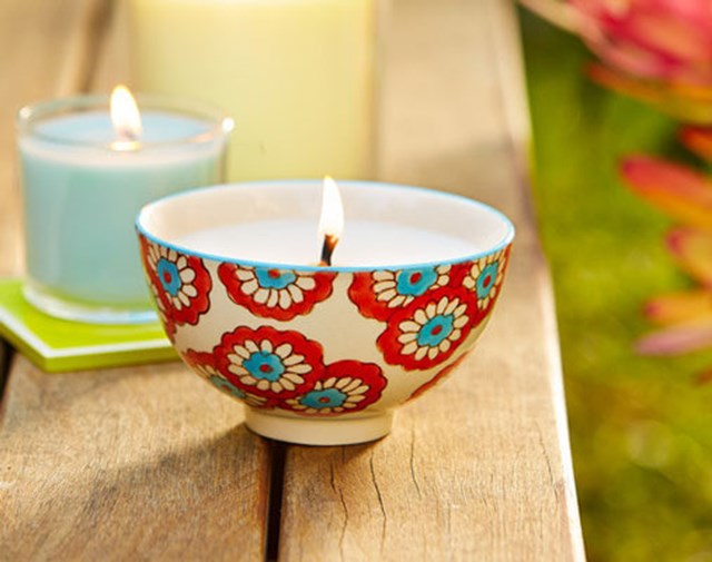 Make your own soy wax candles