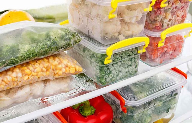 How long can foods be kept in the freezer?