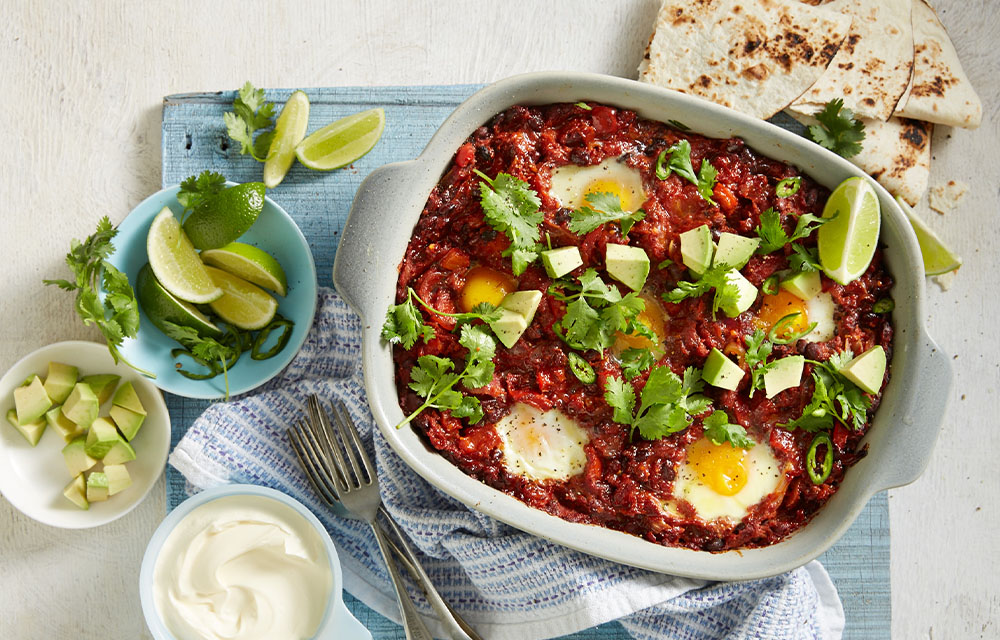 Baked huevos rancheros better homes and gardens for Better homes and gardens australia episodes