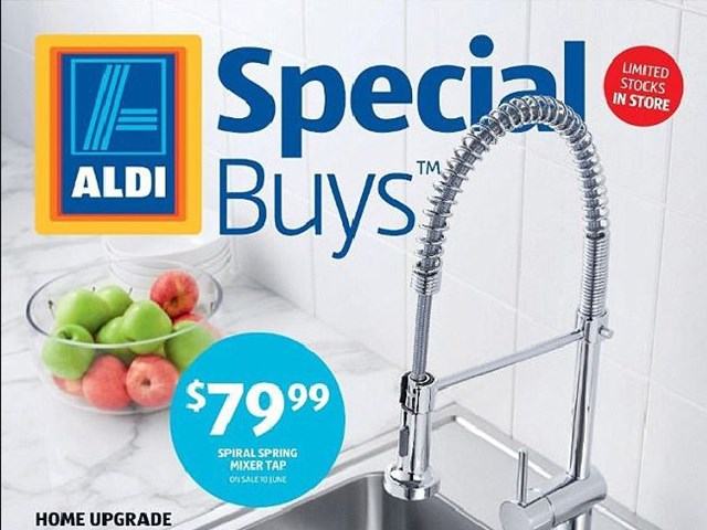 How worried should you be about lead from Aldi taps?