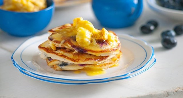 A collection of our best pancake recipes better homes - Better homes and gardens pancake recipe ...