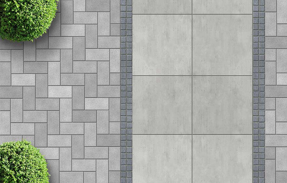 Three outdoor paving trends to try better homes and gardens for Paving planner