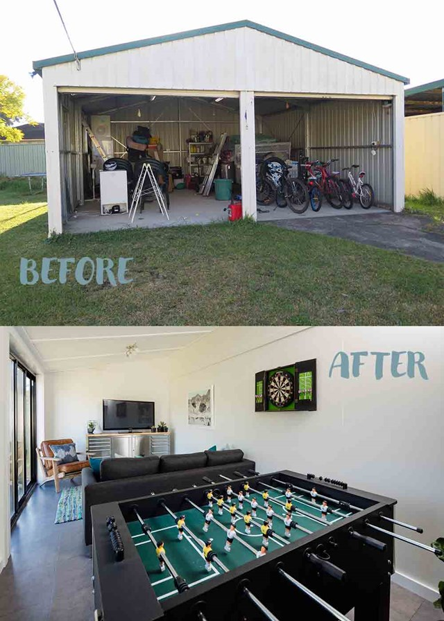 How to turn your garage into a house extension better - Garage turned into house ...