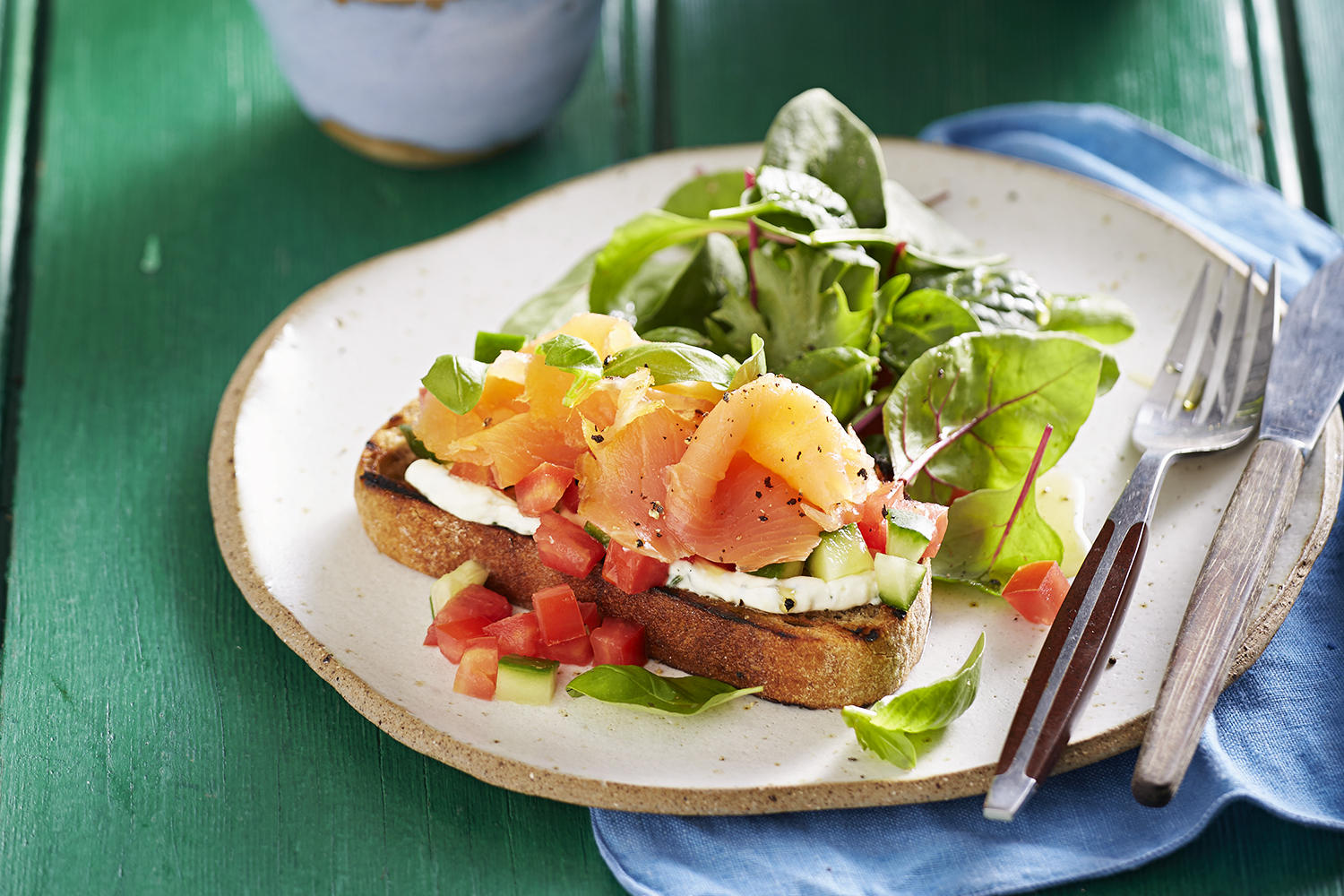 Smoked Salmon Breakfast Better Homes And Gardens
