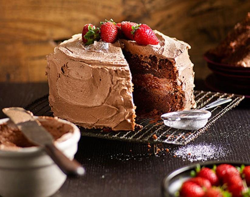 Easy Chocolate Cake Diy Gardening Craft Recipes