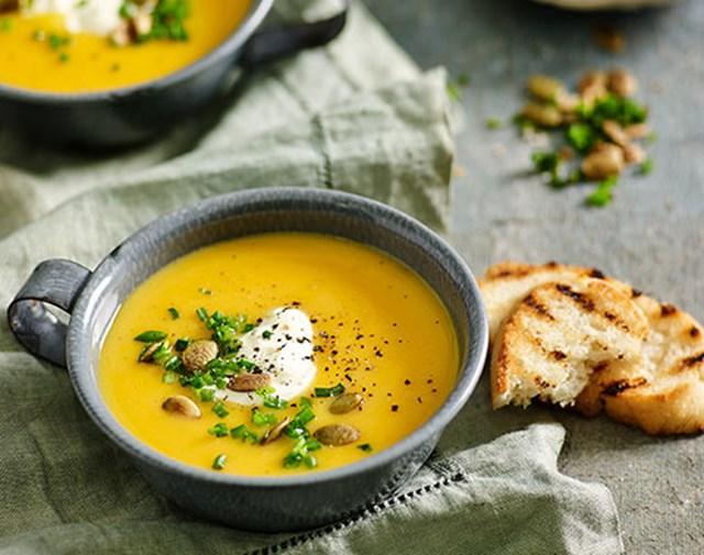 Quick Pumpkin Soup Better Homes And Gardens