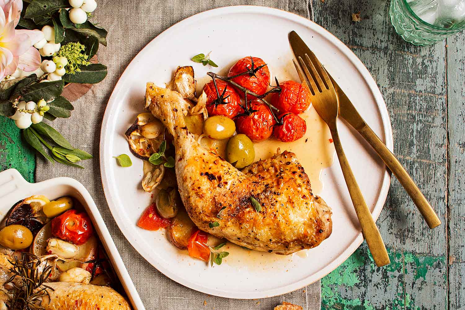 Italian Braised Chicken With Lemon And Olives Better