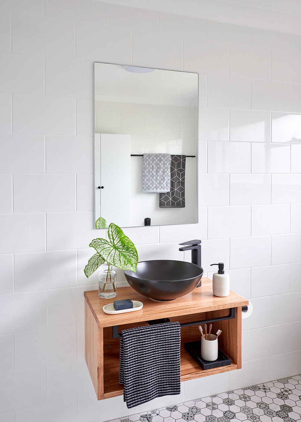Five storage ideas to make the most of your bathroom for Home and garden bathroom ideas