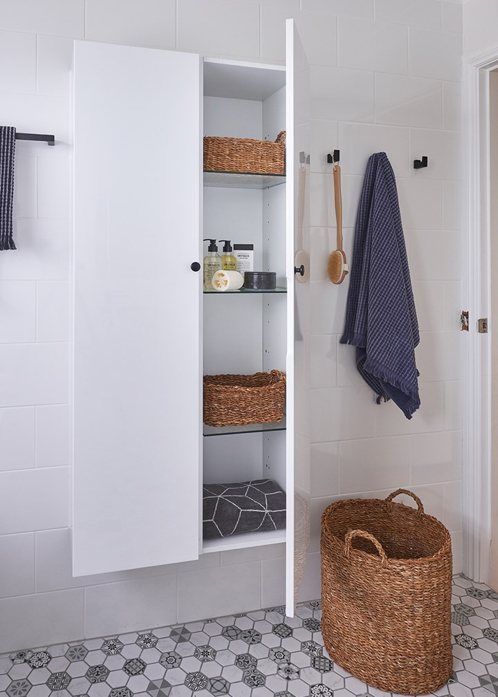 Five storage ideas to make the most of your bathroom
