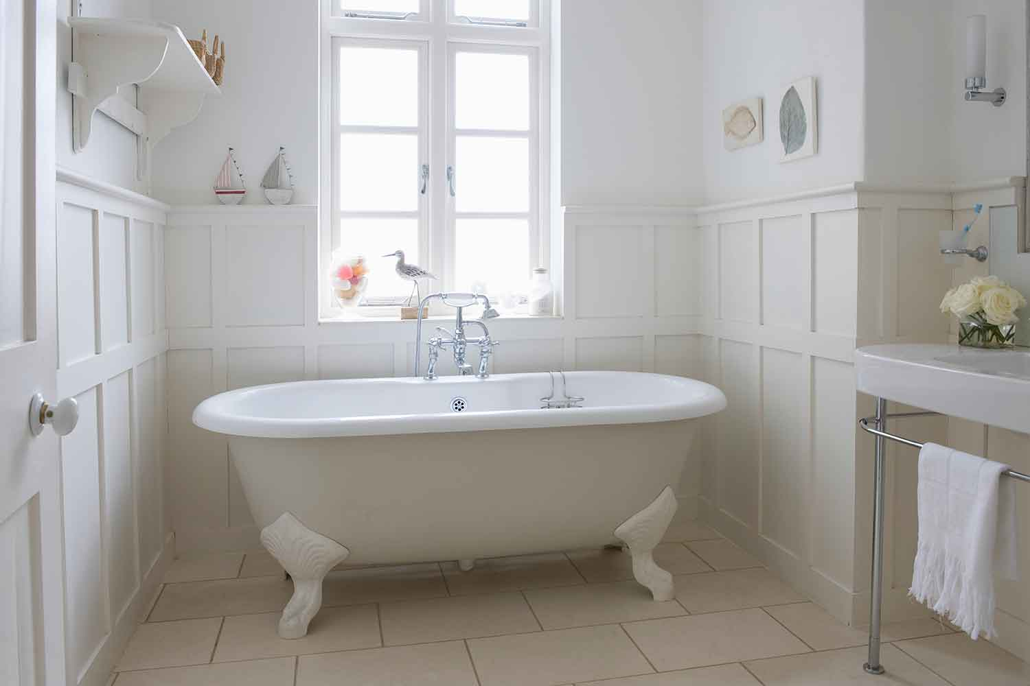 does your bathroom really need a bath? | better homes and gardens
