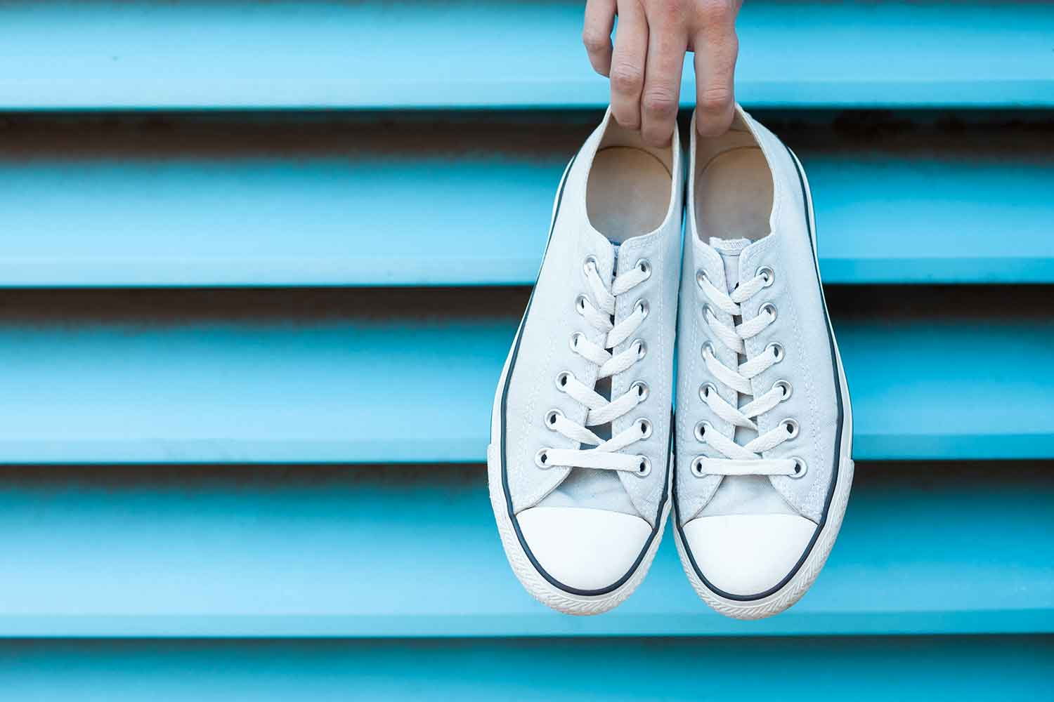 6 hacks to make your white shoes look new again | Better