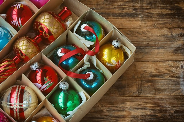 Are people who put up Christmas decorations earlier happier?