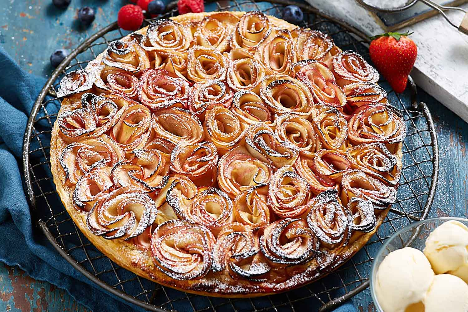 Glam Apple Tart Recipe Better Homes And Gardens