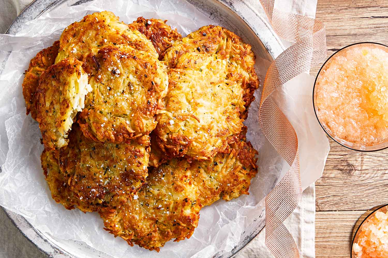 Potato And Chive Rosti Recipe Better Homes And Gardens