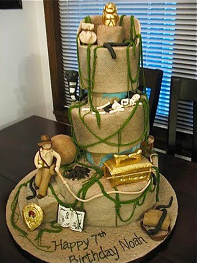 Raiders of the Lost Ark cake