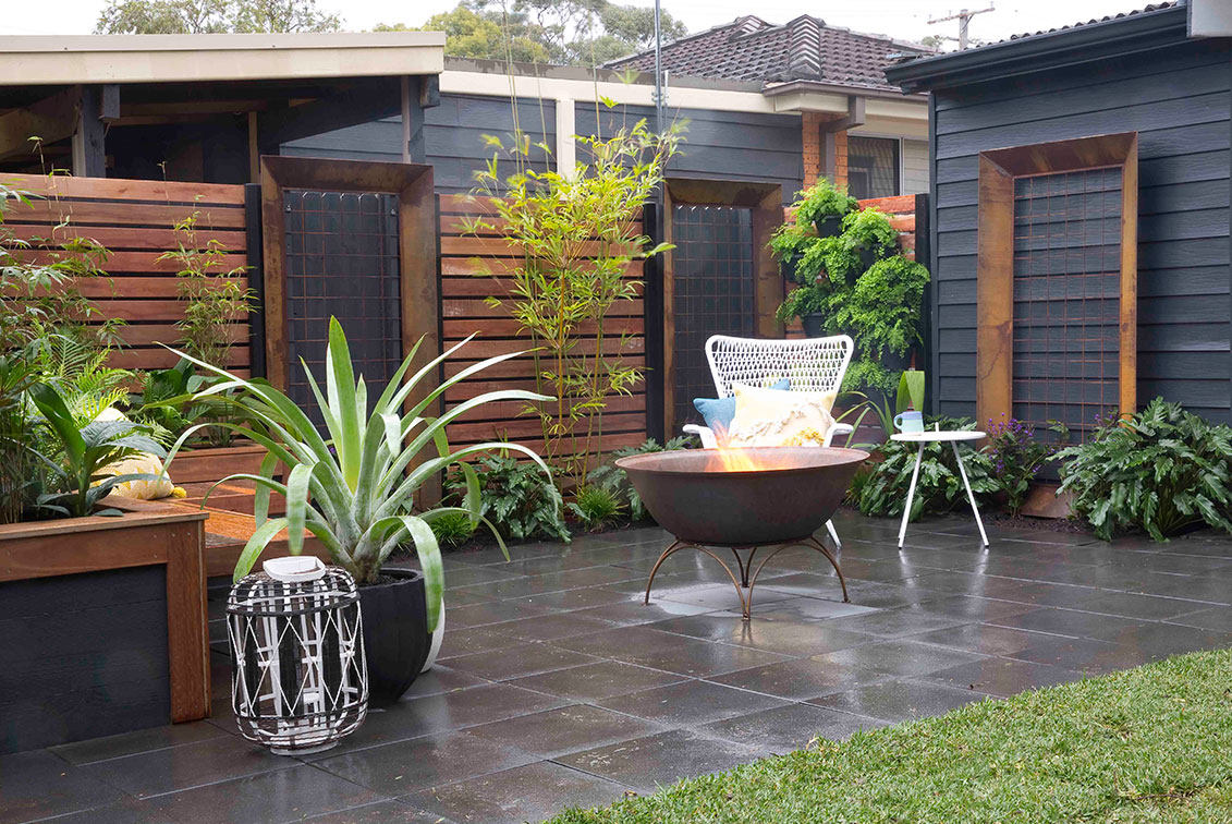 Paving ideas: Four ways to make the most of your outdoor ... on Backyard Pavers And Grass Ideas id=36450