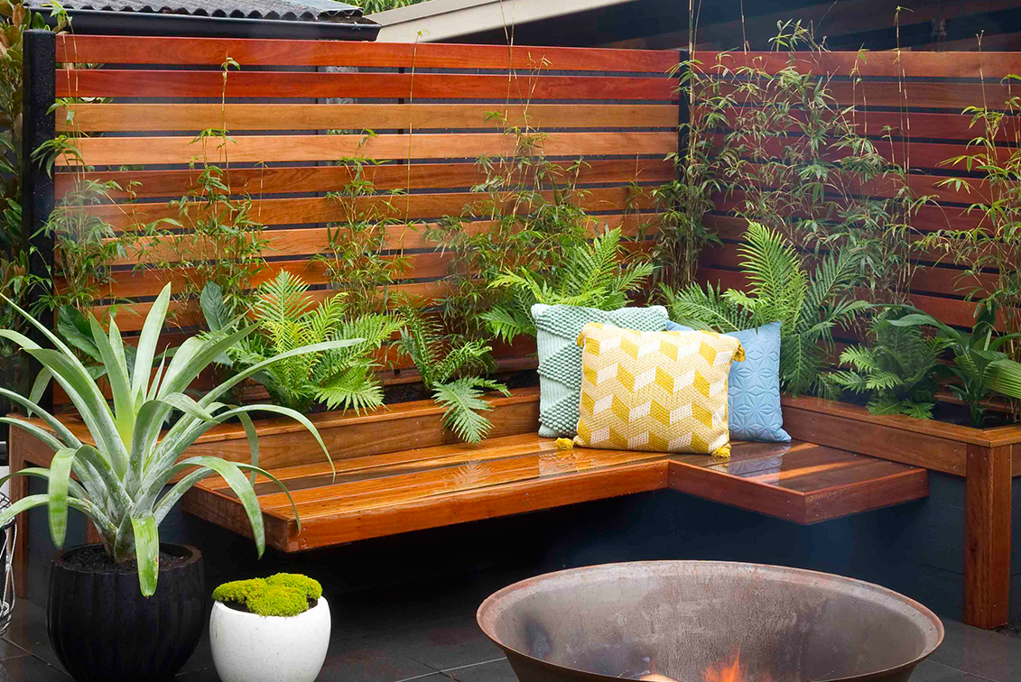 How To Build A Bench Seat And Planter Box Better Homes