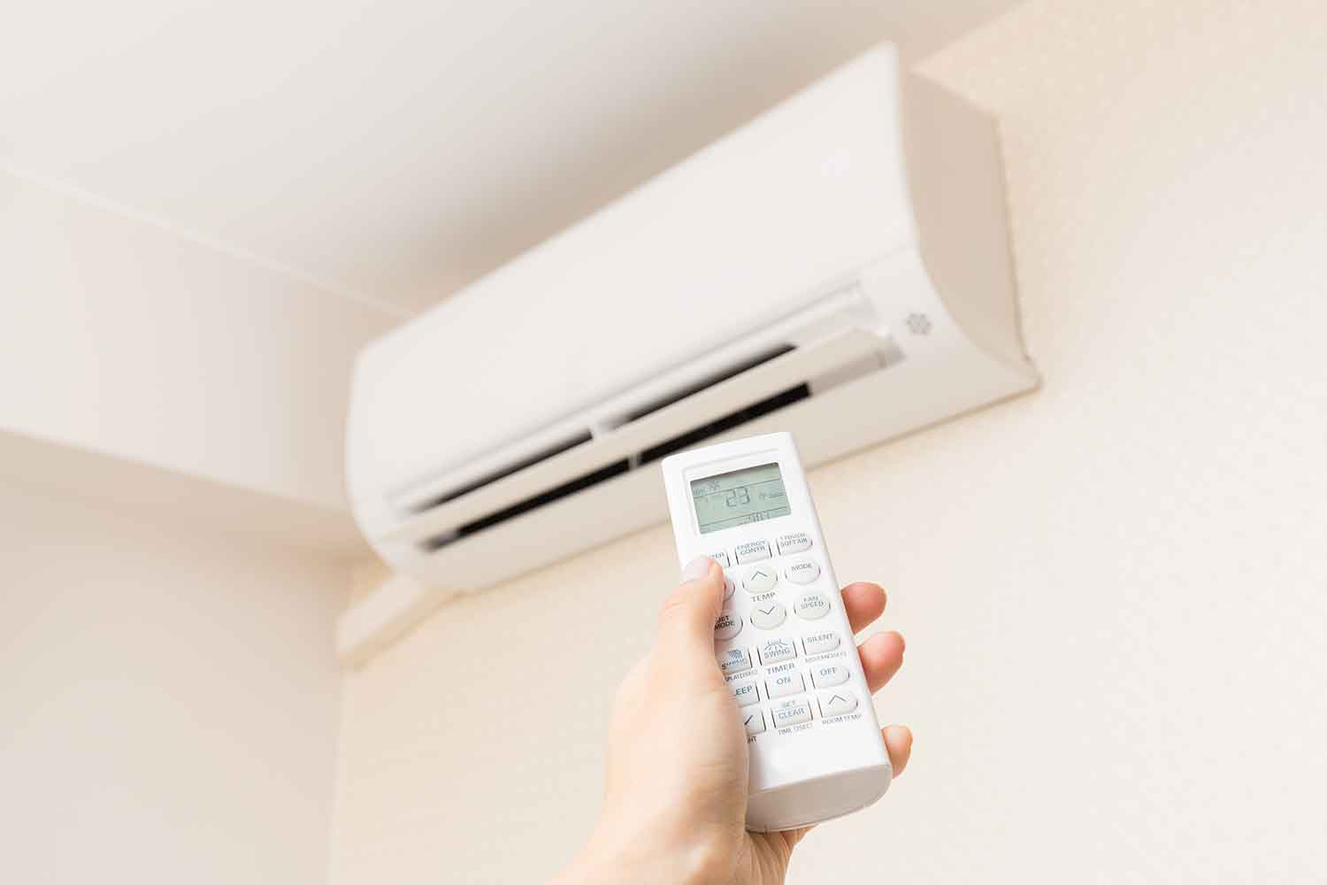 The perfect setting for your air con better homes and for Heat setting for home