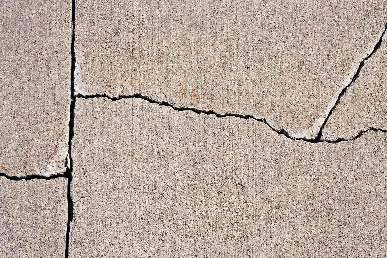Repair Cracks In A Concrete Driveway Better Homes And