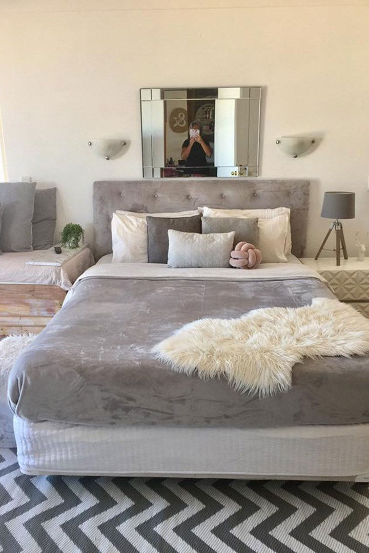 Kmart Mum S Diy Upholstered Bedhead Hack Cost 14 Better Homes And Gardens