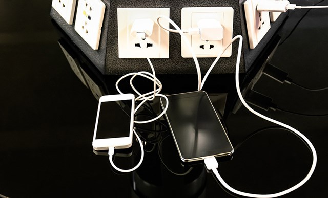 Build a small device charging station