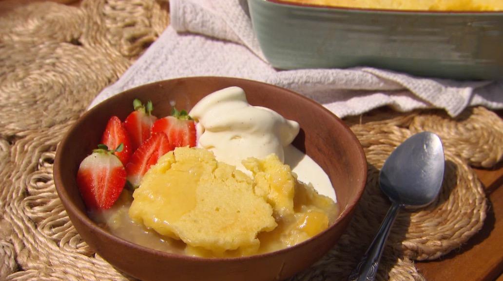 Lemon And Lime Self Saucing Pudding Better Homes And Gardens