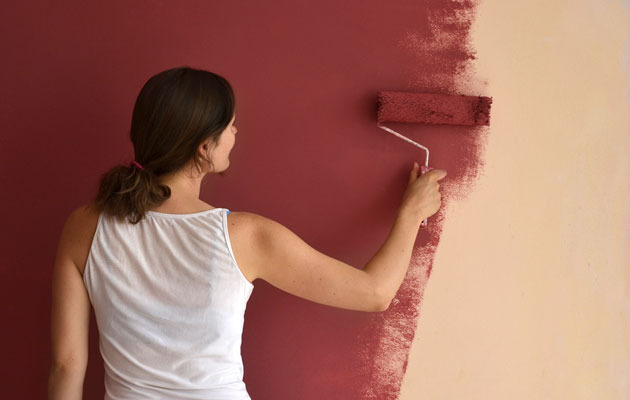 how to paint walls like a pro diy gardening craft