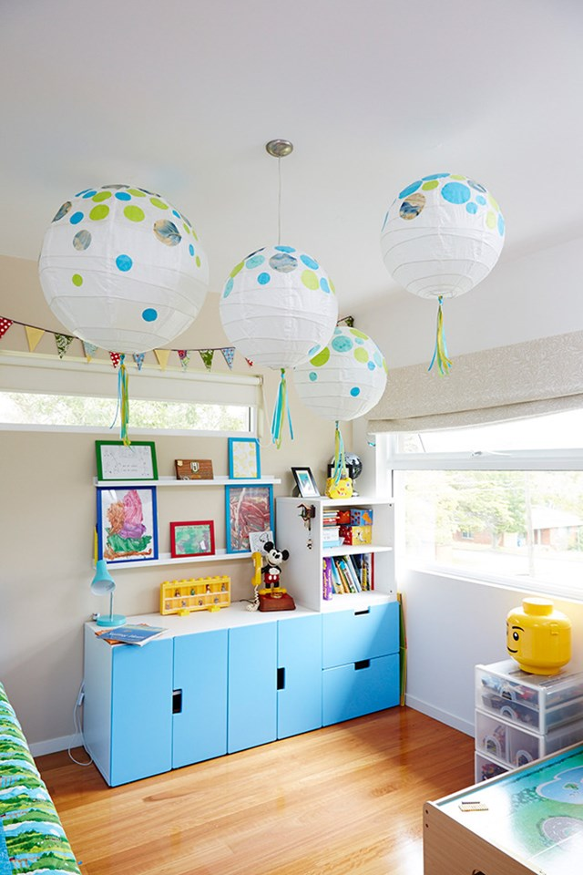 How to make decorated paper lanterns