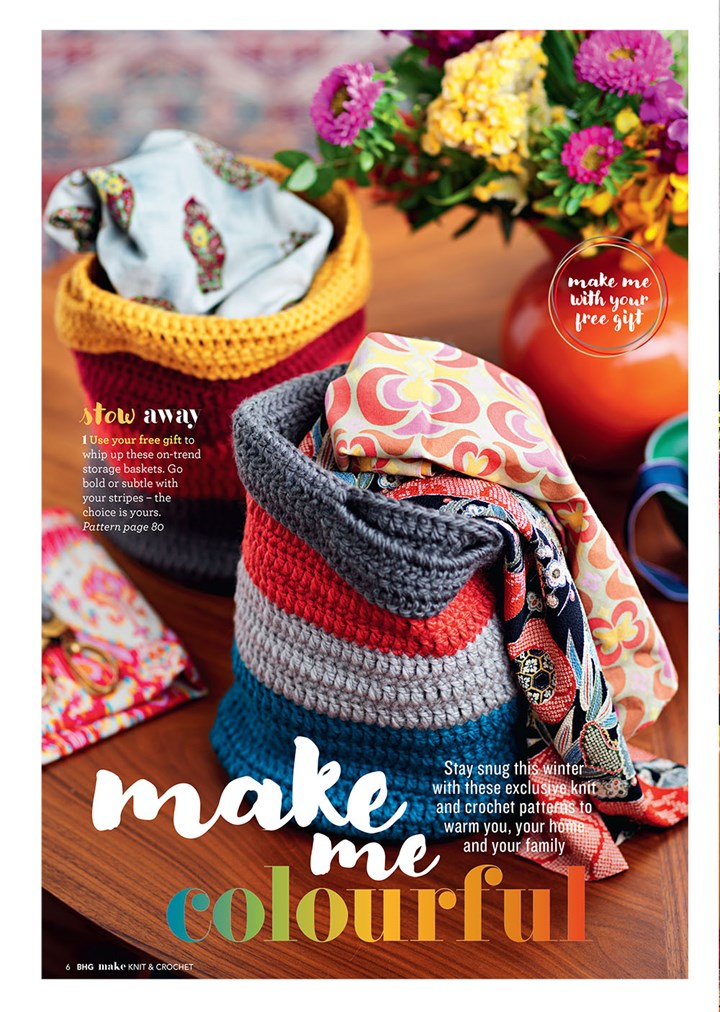 The NEW Make Knit & Crochet Collection | Better Homes and