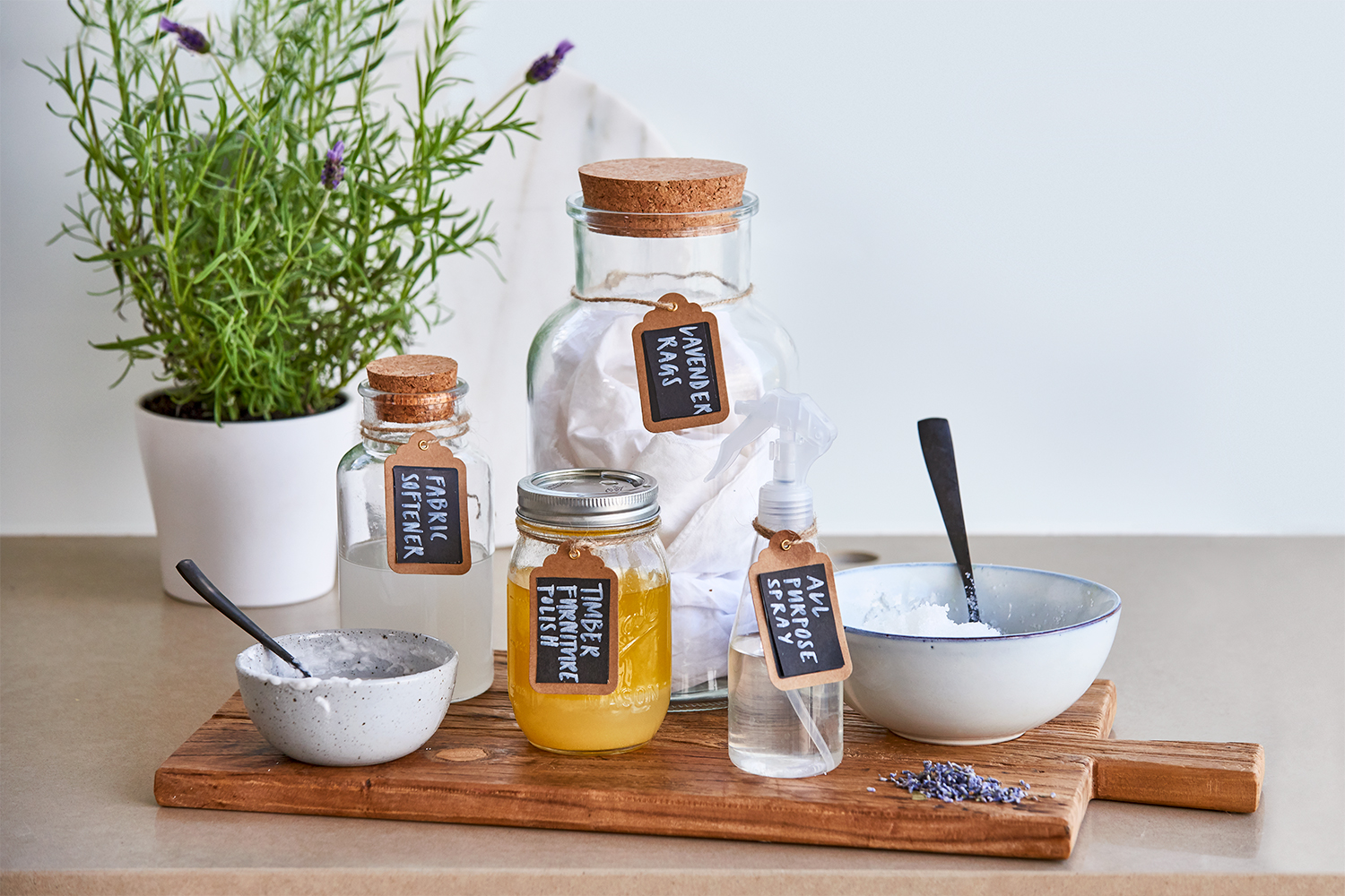Five Homemade Cleaning Products Better Homes And Gardens