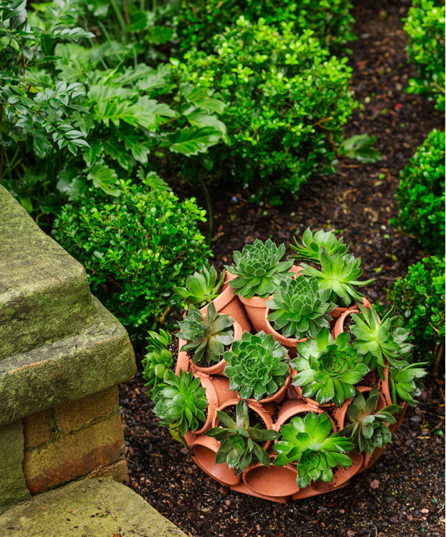 Ornamental terracotta garden feature diy gardening for Ornamental garden features
