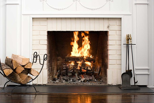 Marvelous How To Paint A Brick Fireplace Better Homes And Gardens Interior Design Ideas Grebswwsoteloinfo