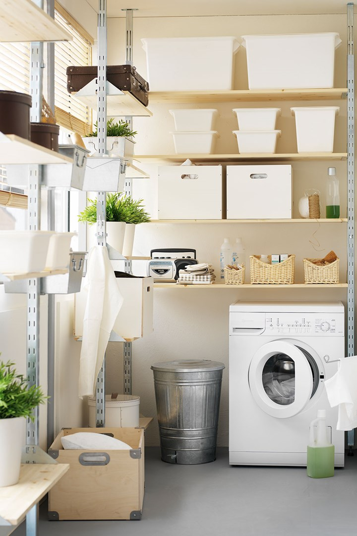 7 Laundry Storage Ideas To Steal From Ikea Better Homes And Gardens