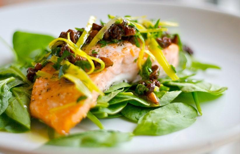 Baked Tasmanian Salmon With Lemon Relish Diy Gardening