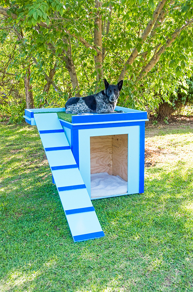 How To Make A Dog House Diy Gardening Craft Recipes Renovating Better Homes And Gardens