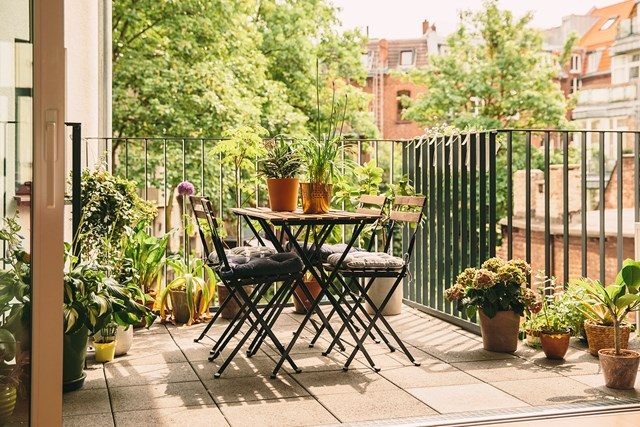 . How to turn a balcony into a second living space   Better Homes and
