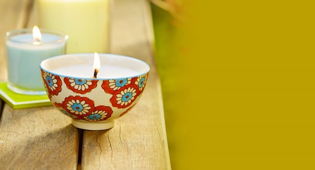 How to make a soy wax candle