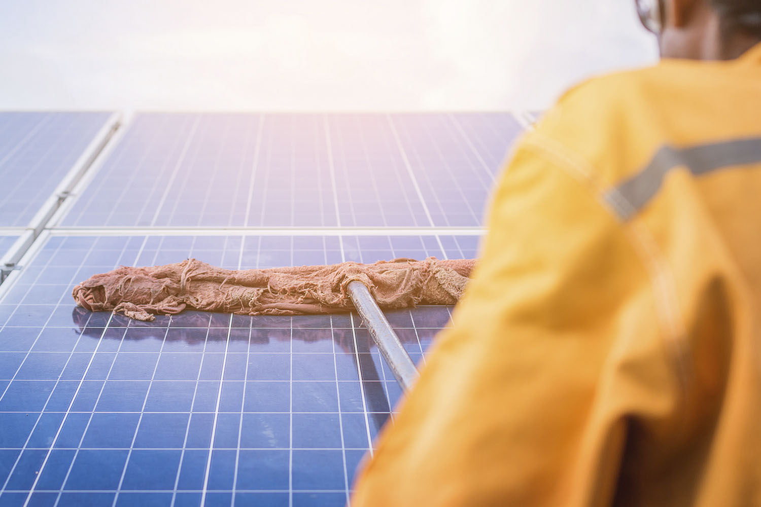 How To Clean Solar Panels From The Ground Better Homes And Gardens
