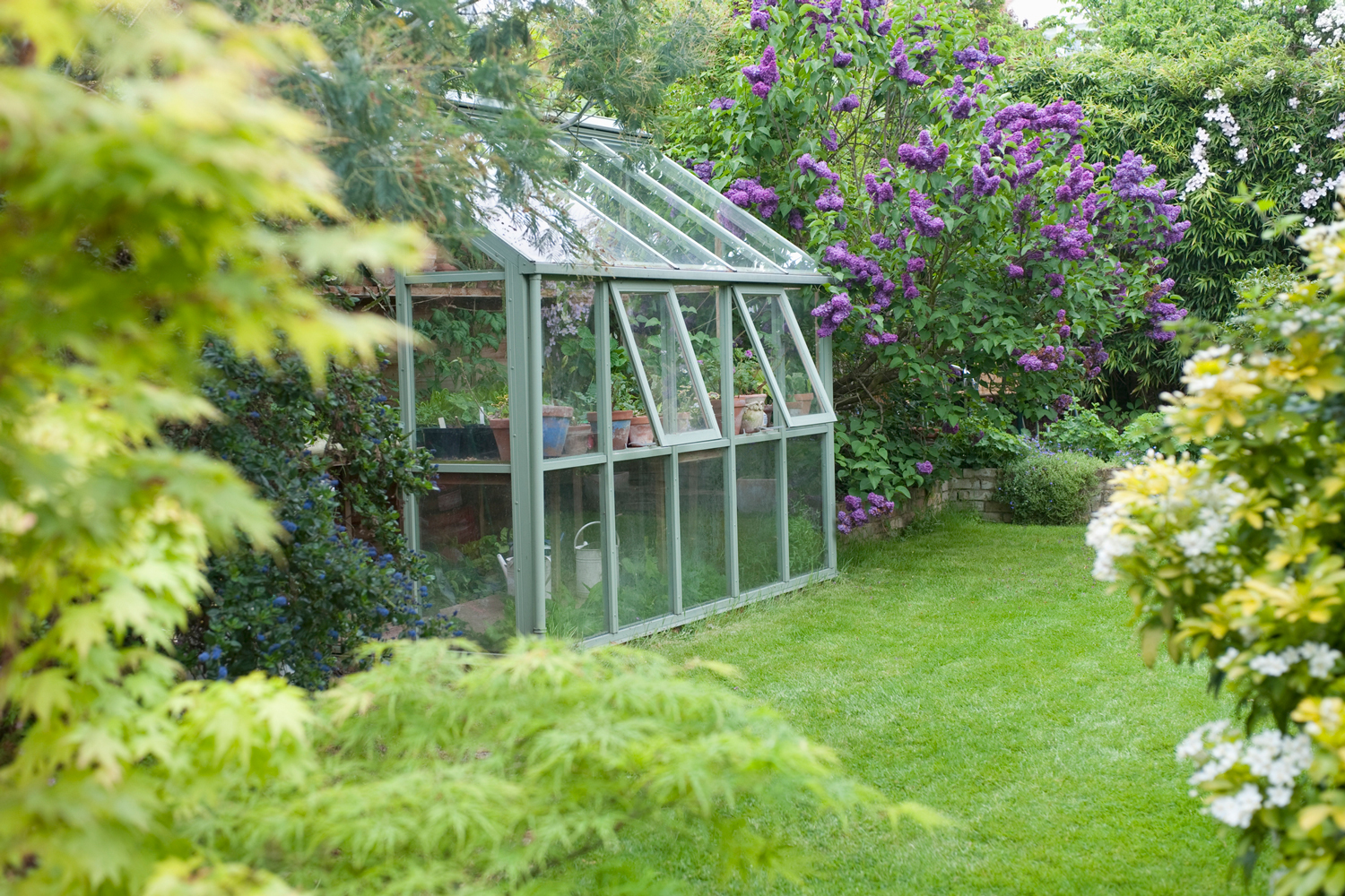 Diy Greenhouse How To Build A Greenhouse Better Homes And Gardens