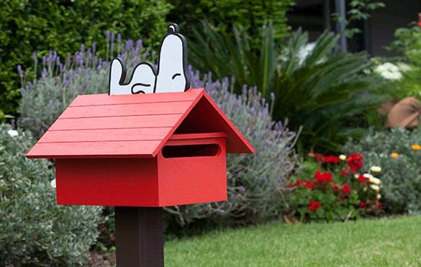 Build Your Own Snoopy Letterbox Better Homes Gardens