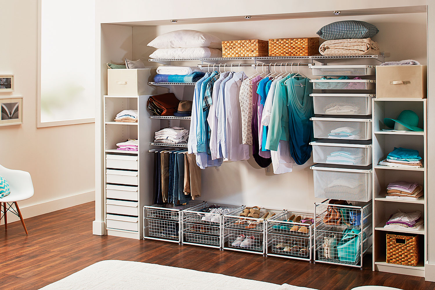 Do It Yourself Home Decorating Ideas: DIY Wardrobe: How To Build A Wardrobe