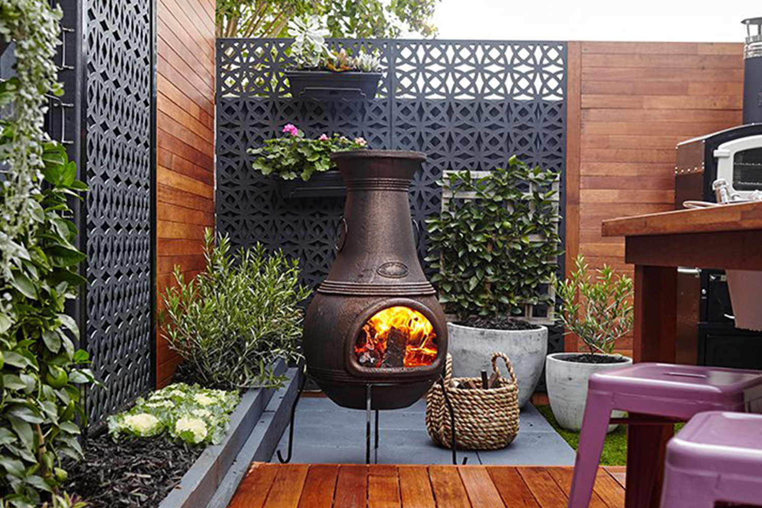 How to choose a decorative outdoor screen for your garden ...