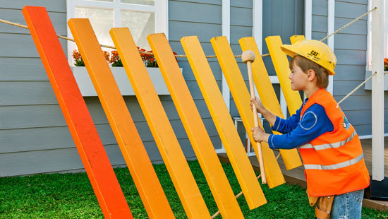 How To Make A Giant Xylophone Diy Gardening Craft Recipes Renovating Better Homes And