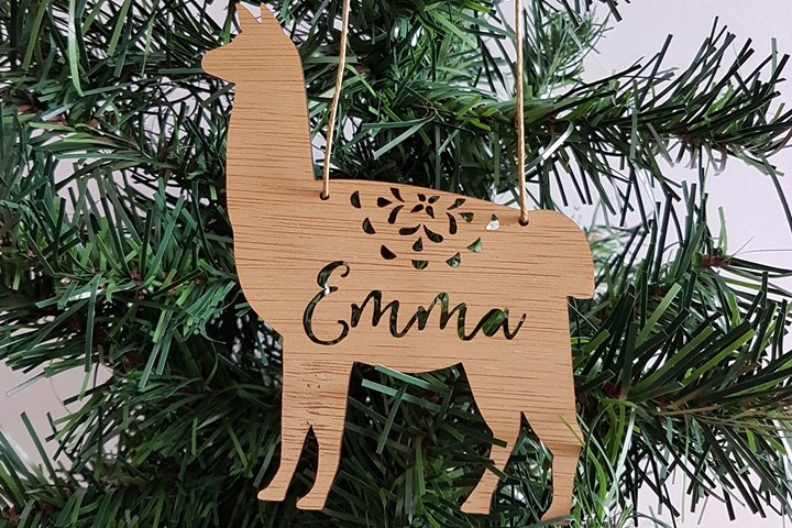 Ten Personalised Custom Made Christmas Decorations On Etsy Better Homes And Gardens