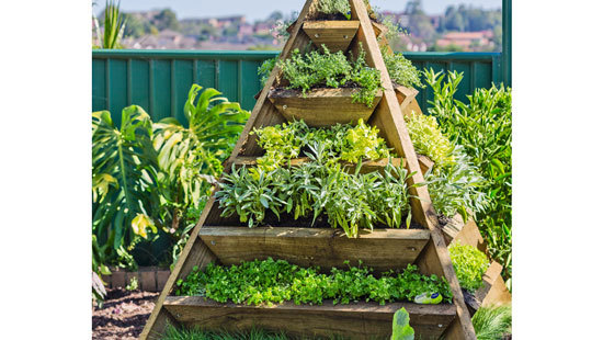 How To Make A Tiered Pyramid Planter Better Homes Gardens
