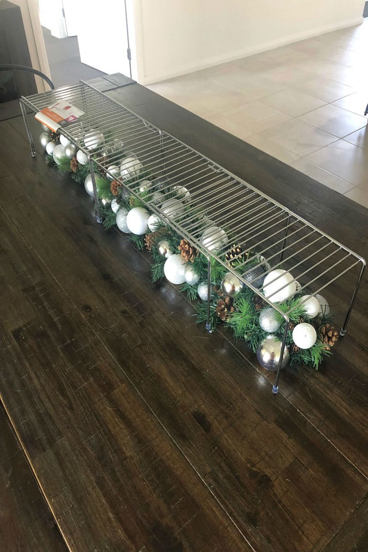 The 8 Kmart Christmas Hack That Lets You Fit Your Food And Decorations On The One Table Better Homes And Gardens